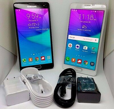 Samsung Galaxy Note 4 N910t 32Gb  T Mobile Metro Pcs  Excellent Good Etc Clean