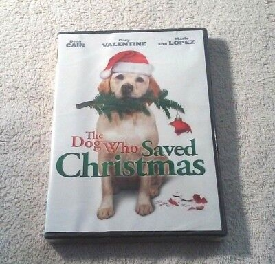 Dean Cain THE DOG WHO SAVED CHRISTMAS Mario Lopez BRAND NEW FACTORY SEALED w/s