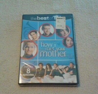 HOW I MET YOUR MOTHER (The Best of TV) 8 Episodes BRAND NEW (Best Of Neil Patrick Harris)