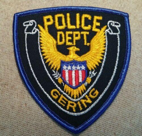 NE Gering Nebraska Police Patch