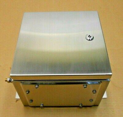 Nib Hoffman Atex303020ss63 Stainless Steel Enclosure 316ss 306x306x205mm 2 Avl