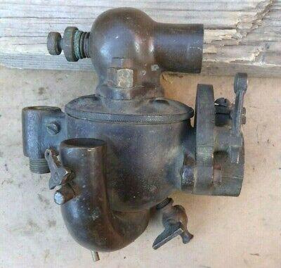 Early Brass Schebler Carburetor Ex25 Original Vintage