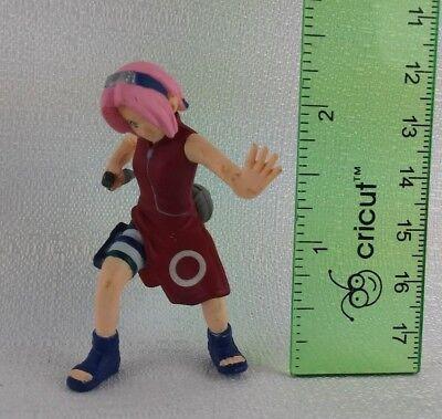 "Sakura Haruno Mattel Shonen Jump Naruto 2002 Used 2.5"" Figure  for sale  Shipping to Canada"