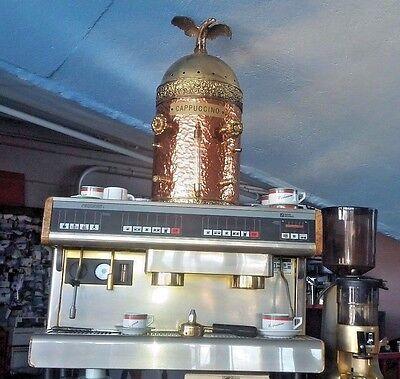 2 Group Tiffany Oro Nnuova Simonelli Espresso Machine Wgrinder