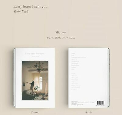 BAEK YERIN Every Letter I Sent You K-POP 2 CD + POSTCARD SEALED
