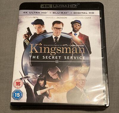 Kingsman: The Secret Service [4K UHD + Blu-ray]