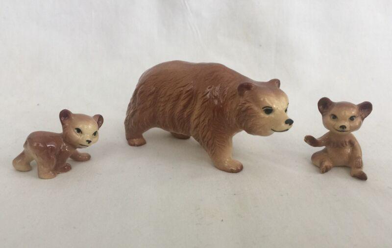 Hagen Renaker Pottery Bear Family