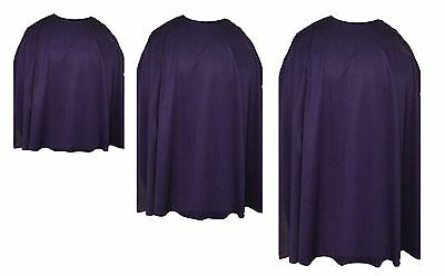 Plum Purple Custom Made Super Hero Cape Fancy Dress (Custom Made Hero Kostüme)