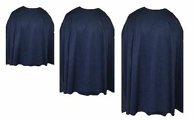 Navy Blue Custom Made Super Hero Cape Fancy Dress (Custom Made Hero Kostüme)