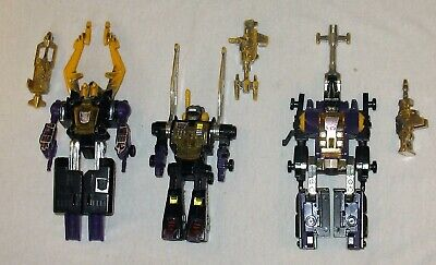 Vintage G1 1980`s Transformers Insecticons with Weapons