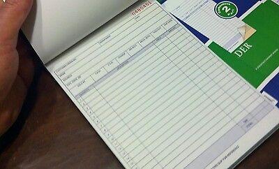 2 Part Sales Order - Sales Order Receipt  Book Carbonless  2 Part 50 Sets Duplicate Copy med-size