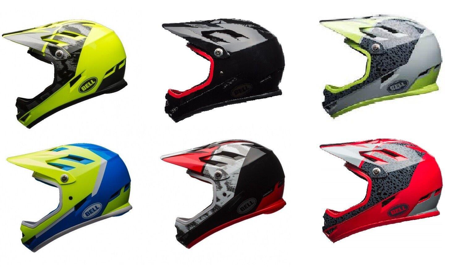 Bell Sanction Full Face Helmet mountain bike BMX dirt jumps