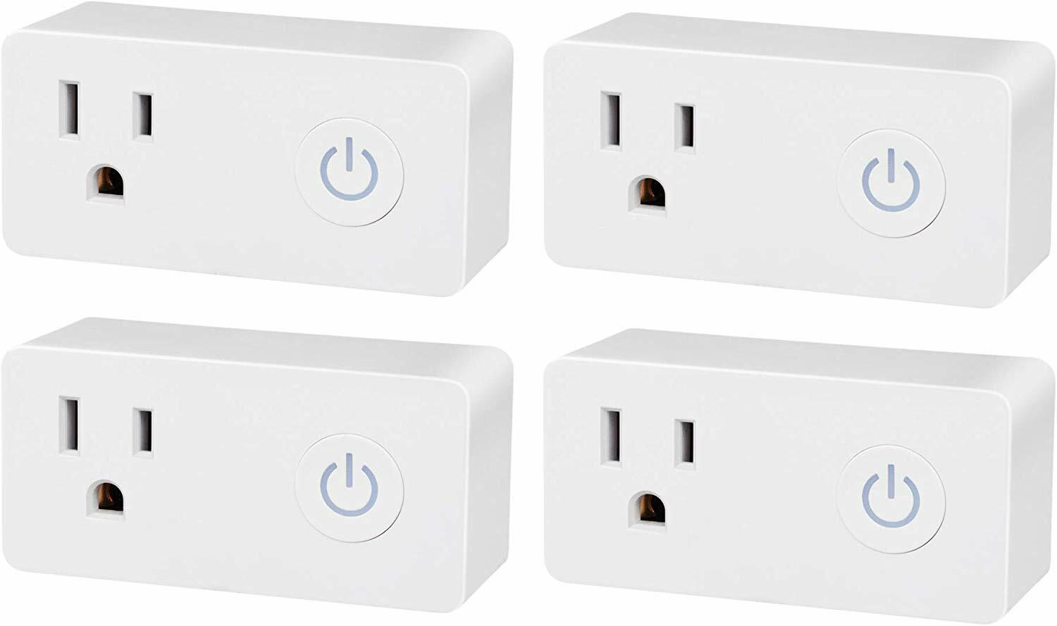 BN-LINK Smart WiFi Outlet, Hubless with Energy Monitoring an