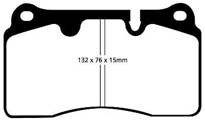EBC For 04-12 Aston Martin DB9 5.9 Yellowstuff Front Brake Pads