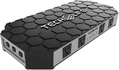 Tech Life TLG1 THE GRID Tool Box Power Strip Surge Protector Charger w/ Outlets