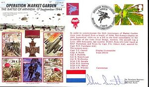 AF17b Operation Market Garden Battle of Arnhem Army RAF VC cover signed PARA