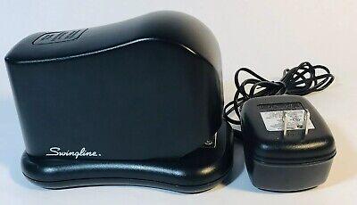 Swingline Electric Stapler With Ac Power Cord Model 211xx Black Desk Office