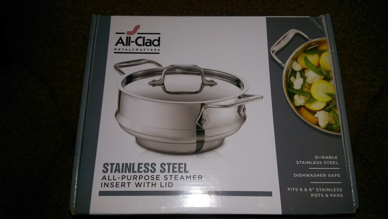 All-Clad Stainless 3 qt All-Purpose Steamer Insert