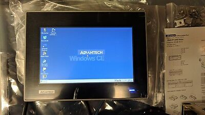 Advantech Hmi Touch Screen Industrial Panel Wop-3070t - C4ae Windows Ce 6.0