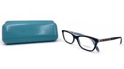 Tiffany & Co. ATLAS col. Women's Black Blue Glasses with case TF 2102 8055 (Tiffany And Co Prescription Glasses)