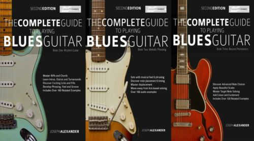 The Complete Guide to Playing Blues Guitar Collection: Books 1, 2 & 3 + Audio