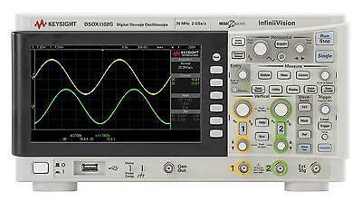 Keysight Dsox1102g Infiniivision Digital Oscilloscope W. Wavegen 70100 Mhz