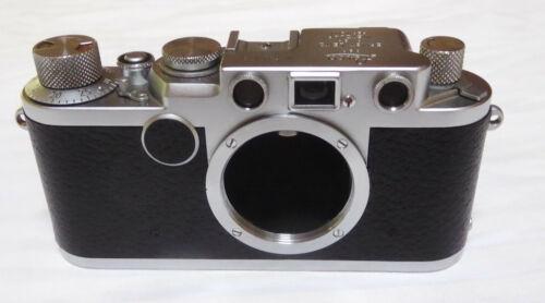 Leica Leitz 2F, IIF Camera S/N 764173 1955 Red # 6 Mounth Warranty CLA.d Wetzlar