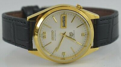 Vintage Seiko 5 Automatic 21jewels Working Wrist Watch For Men's Wear B-05