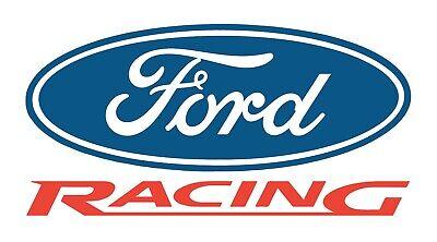 Ford Racing Vinyl Banner Flag Sign Shop Garage Man Cave Waterproof Outdoor 36x20