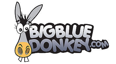 Big Blue Donkey