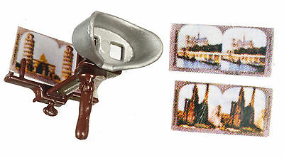 Dollhouse Miniature - Stereoscope Vintage Style  - 1/12 Scale