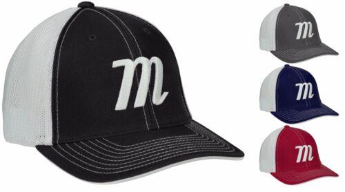 Marruci M Logo Adult Snap Back Trucker Hat MAHTTRP