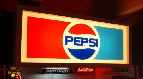 Vintage PEPSI lighted sign