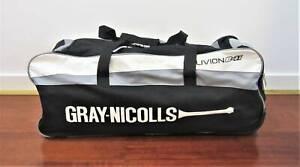 CRICKET BAG GRAY NICOLLS OBLIVION Sports Gear Carry Travel Bat Ball