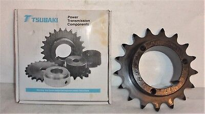 TSUBAKI H80Q17 17 TOOTHED SPROCKET NEW IN THE BOX