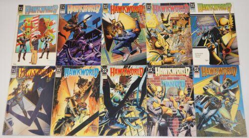 Hawkworld #1-32 VF/NM complete series + annual #1-3 + mini-series #1-3 hawkman