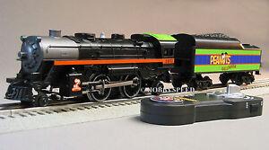 LIONEL PEANUTS HALLOWEEN STEAM ENGINE/TENDER REMOTE CONTROL train 30214 6-18789