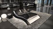 Modern Leather Bed Styles Premium quality King and Queen Thornlie Gosnells Area Preview