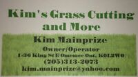 Spring clean up and summer lawn care quotes happening now !