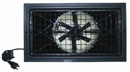 Power Blades 460 CFM + Crawlspace Fan / Foundation Vent Fan / Exhaust Fan