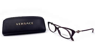 Versace Women's Purple Cats Eye Glasses with case MOD 3206-A 5105 (Catseye Glasses Case)