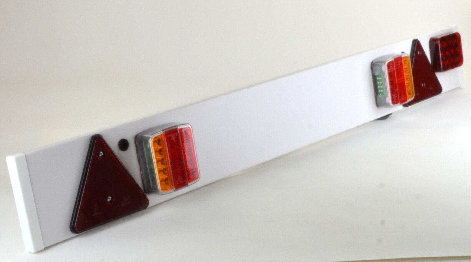 led r ckleuchten set 7 polig magnet verkabelt pkw. Black Bedroom Furniture Sets. Home Design Ideas