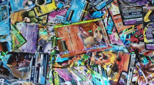 Pokemon Tcg 100 Card Lot-rare, Com, Unc, Holo,& Guaranteed Ex, Gx, Or Full Art