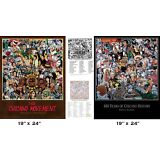 """460 Years of Chicano History 19"""" x 24"""" & The Chicano Movement 19"""" x 24"""" print"""