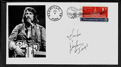 Waylon Jennings Country Music Limited Edition Collector's Envelope *A330
