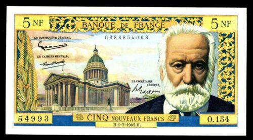 France ... P-141a ... 5 Francs ... 1965 ...* CHOICE AU-UNC *