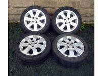 """15"""" Genuine Corsa SXI Alloy wheels tyres 4x100"""