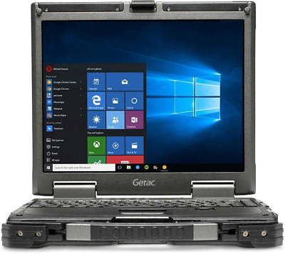 FULLY RUGGED GETAC B300-H Laptop - i5-2520M CPU✔TOUCH✔8GB RAM (NO HDD & ADAPTER)