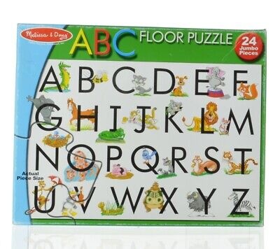 ABC Puzzle Giant Floor Melissa And Doug24 Jumbo Pieces