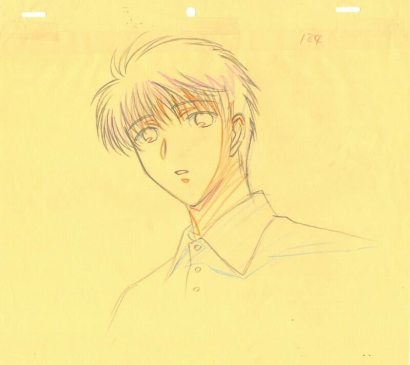 Anime Genga not Cel Chobits #128